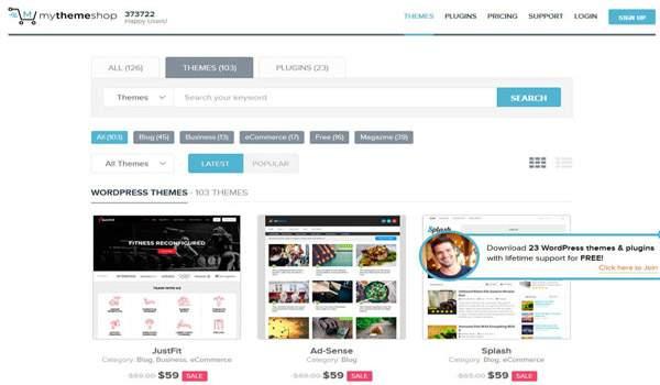 MyThemeShop: las mejores plantillas para wordpress. Descuento 60%