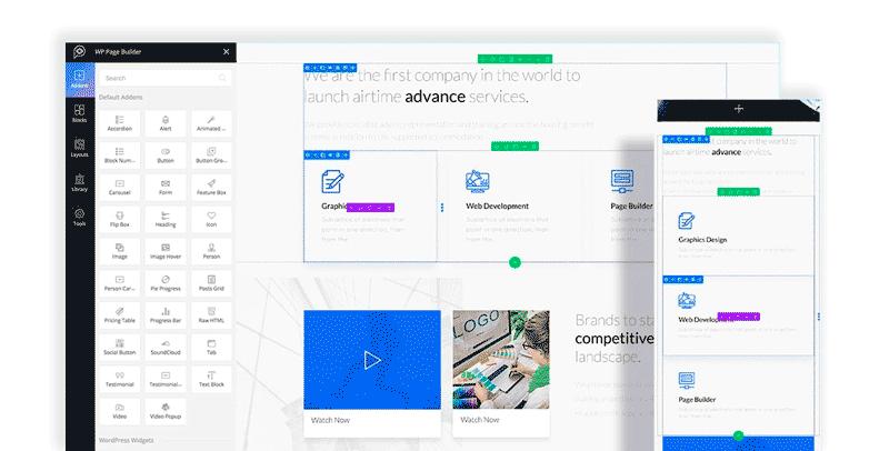 Mejores constructores visuales en WordPress